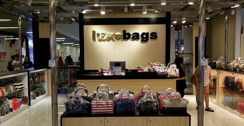 Luxebags store in Singapore.