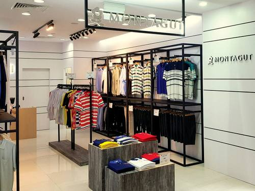 Montagut clothing store in Singapore.