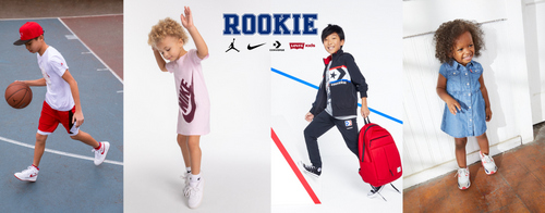Rookie children's clothing store in Singapore.