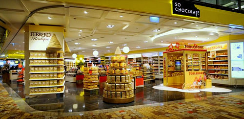 So Chocolate confectionery shop at Changi Airport's Terminal 2 in Singapore.