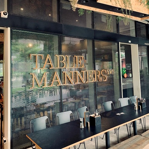 Table Manners restaurant at Changi City Point mall in Singapore.