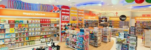 Times Junior children's bookstore at Jewel Changi Airport mall in Singapore.