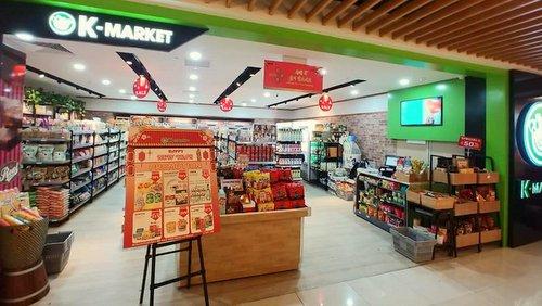 K-Market Korean grocery store in Singapore.