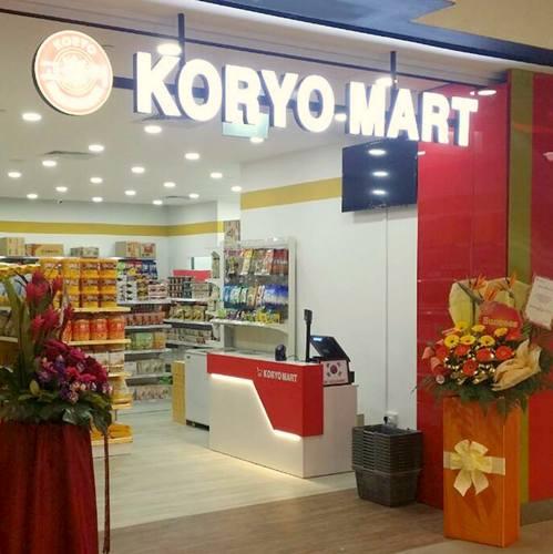 Koryo Mart Korean grocery store in Singapore.