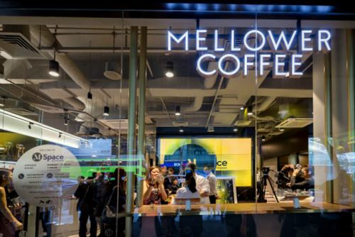 Mellower Coffee shop at MSpace at Maybank in Singapore.