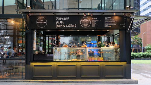 The Providore at Raffles Place mall in Singapore.