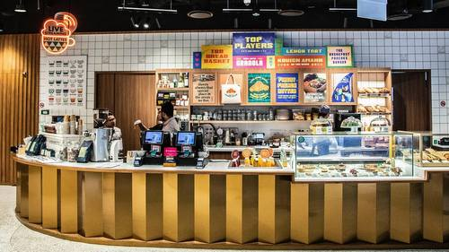 Tiong Bahru Bakery shop in Singapore.