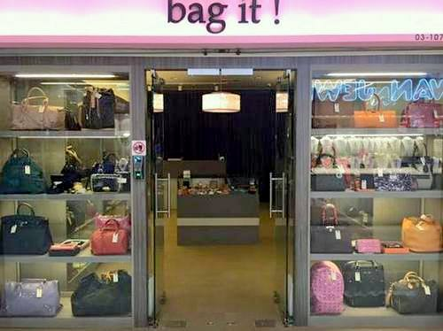 Bag It! shop at Far East Plaza in Singapore.