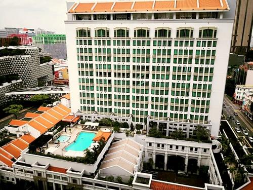 InterContinental Singapore hotel.