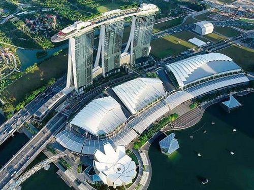 Marina Bay Sands Hotel in Singapore.