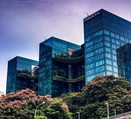 PARKROYAL on Pickering hotel in Singapore.