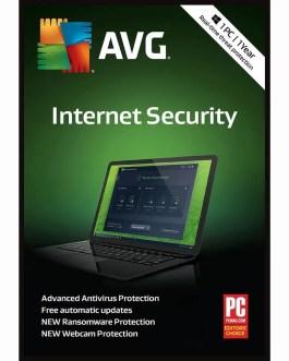 AVG Internet Security 2021 1 PC 1 Year