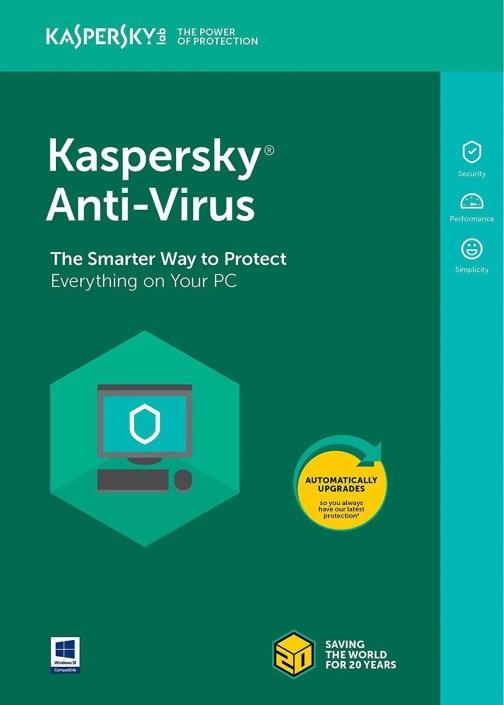Kaspersky Antivirus 1 pc 1 year, cheap key