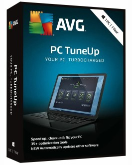 AVG PC TuneUp 2021 1 PC 1 Year