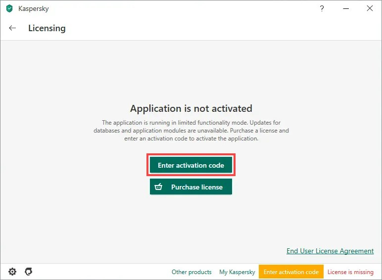 How to activate kaspersky internet security