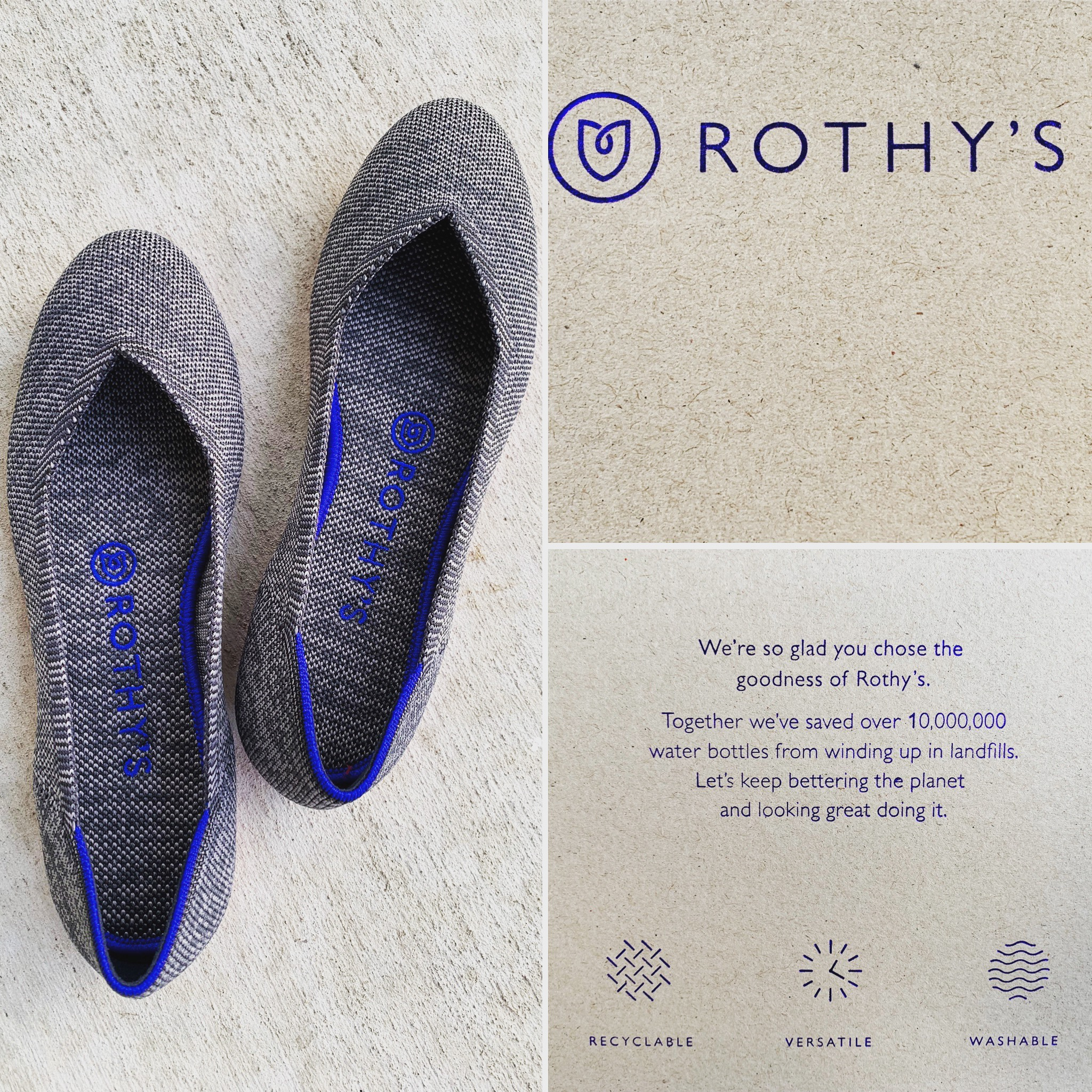 Rothy's: Upcycled and Elevated Flats