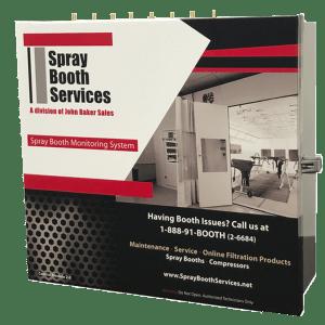 spray booth monitoring system