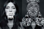 Kim Kardashian--CR Fashion Shoot. Shot by Karl Lagerfeld.