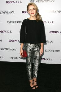 In Armani's Emporio rendition. These trousers make this outfit unresistant to the runway!