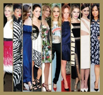 A short image-montage of the best dressed celebs of 2013.