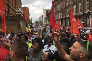 Unite strike rally at Royal London July 4th