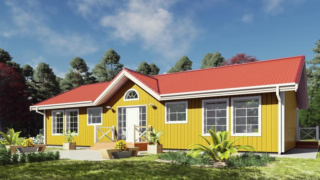Casa Prefabricada 131   Norges Hus   Casas Prefabricadas