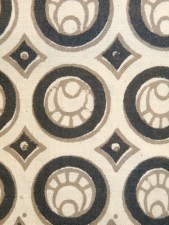 Oak Park dress black and white. detail