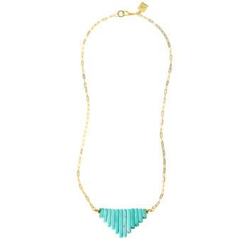 Jenny Bird Jenny Bird Leather & Lanterns Necklace