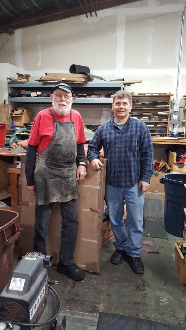 PIC 9 Harry Crawford, left, & John Wright