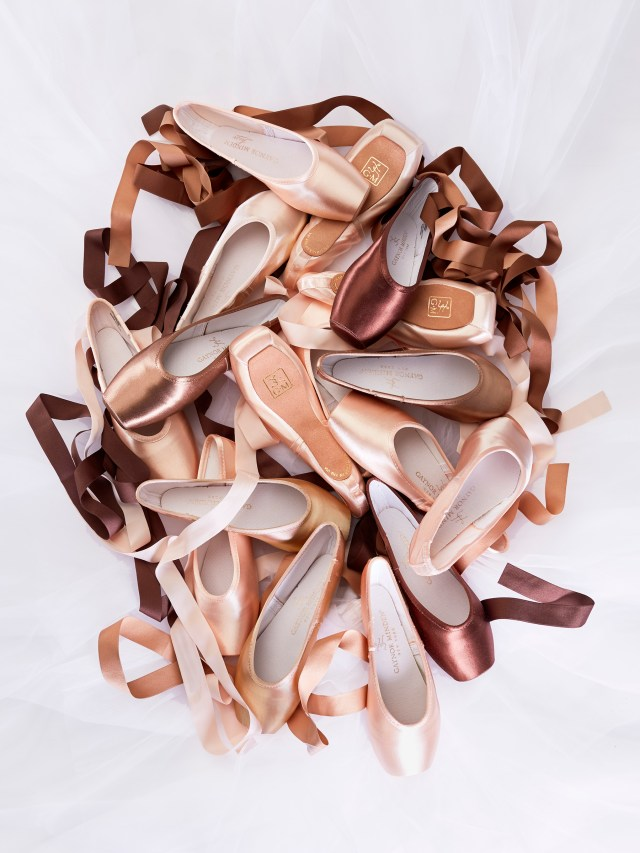About two years ago, Richard Bass, owner of Cardinal Shoe in Lawrence, MA, came up with the idea of offering a variety of colors for the Gaynor Minden shoes, like brown and tan, to match the skin tone of different ethnicities.