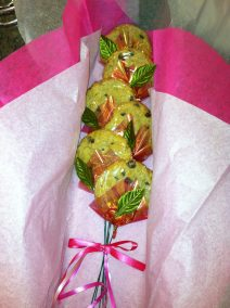 Long Stem Cookie Bouquet 1/2 Dozen