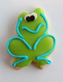 Frog Cookie