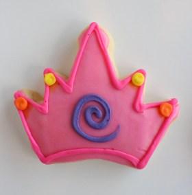 Princess Crown Cookie