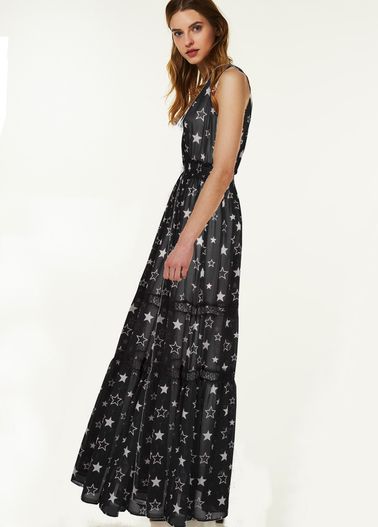 premium selection 1ac6f 3166d Maxi abito 'Elvire' – LIU JO – Shop The Look – Guarda Ama ...