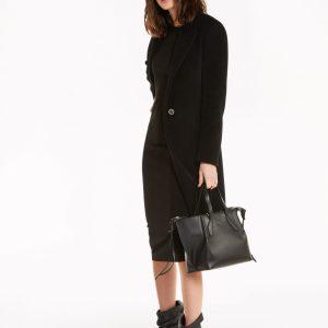 Abbigliamento Patrizia Pepe  Cappotto 1 bottone Black female collezione 2020 shop the look