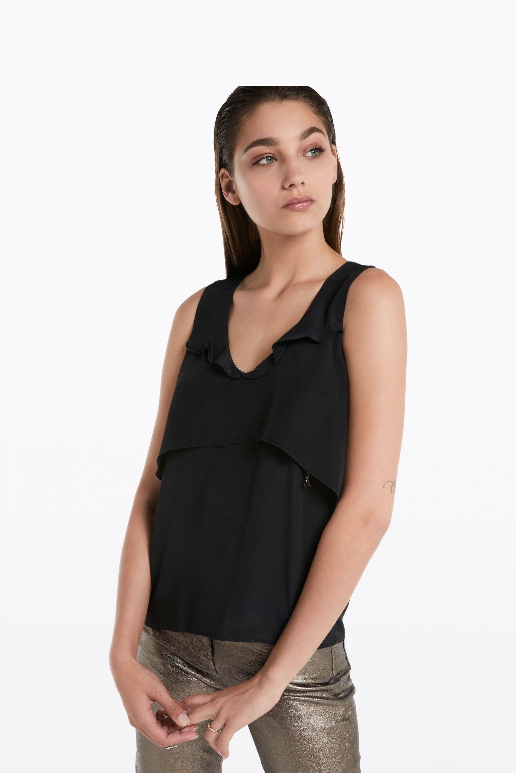 Abbigliamento Patrizia Pepe  Top sottogiacca Black female collezione 2020 shop the look