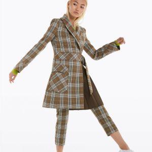 Abbigliamento Patrizia Pepe  Cappotto check Beige Check female collezione 2020 shop the look