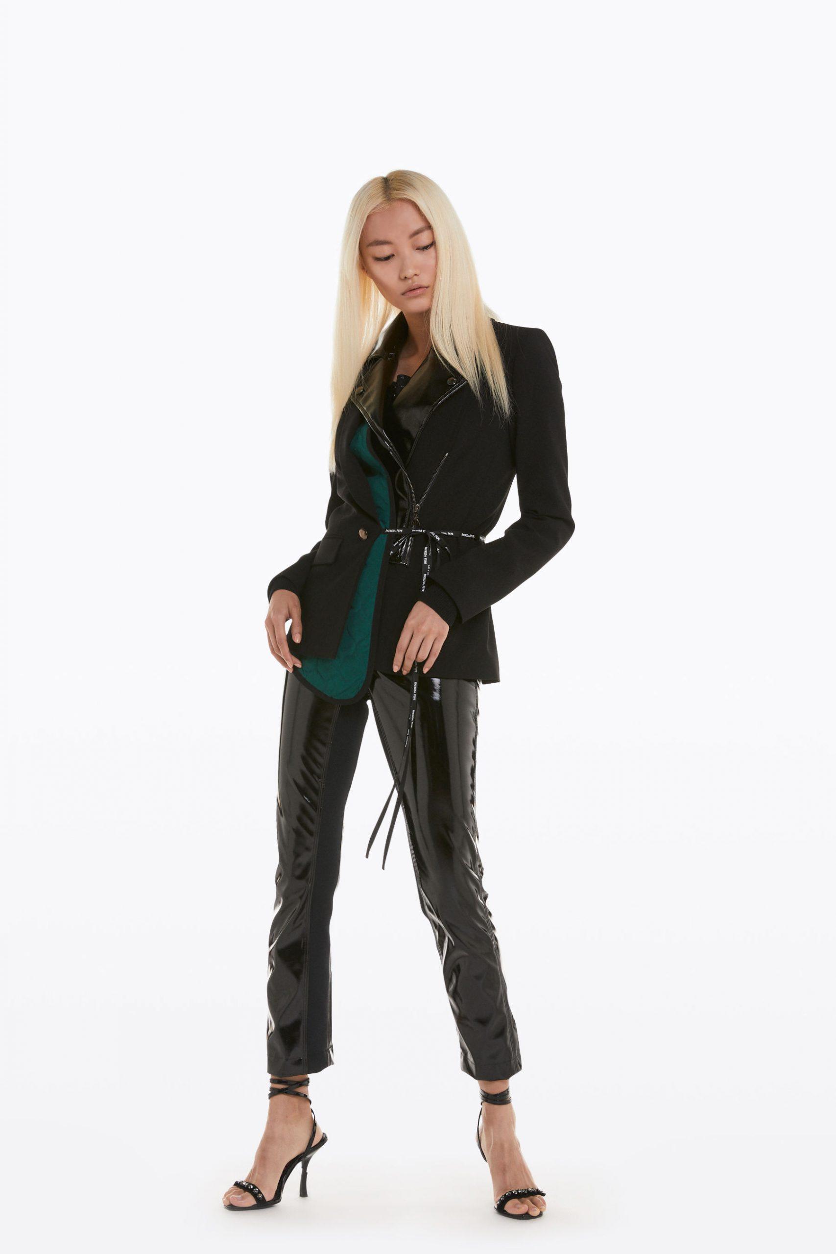 Abbigliamento Patrizia Pepe  Giacca doppio capo Black female collezione 2020 shop the look