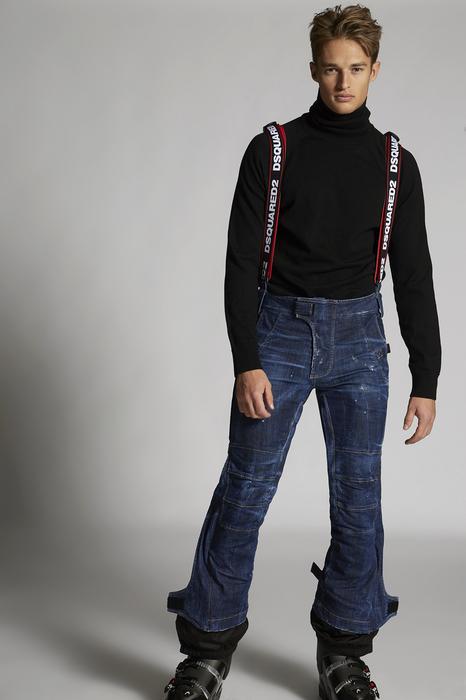 DSQUARED2 Uomo Pantalone Blu Taglia 42 98% Cotone 2% Elastan