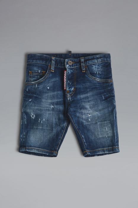 DSQUARED2 Uomo Shorts Blu Taglia 14 98% Cotone 2% Elastan