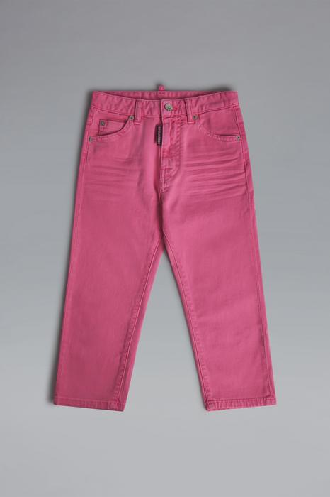 DSQUARED2 Donna 5 pockets Rosa Taglia 16 98% Cotone 2% Elastan