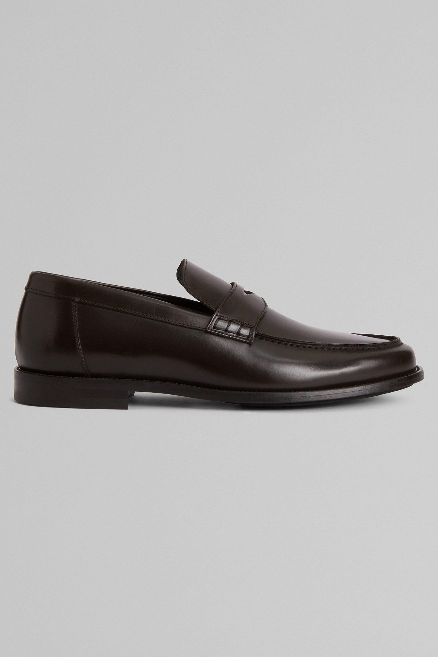 Scarpe Classiche da uomo in colore Moro in materiale