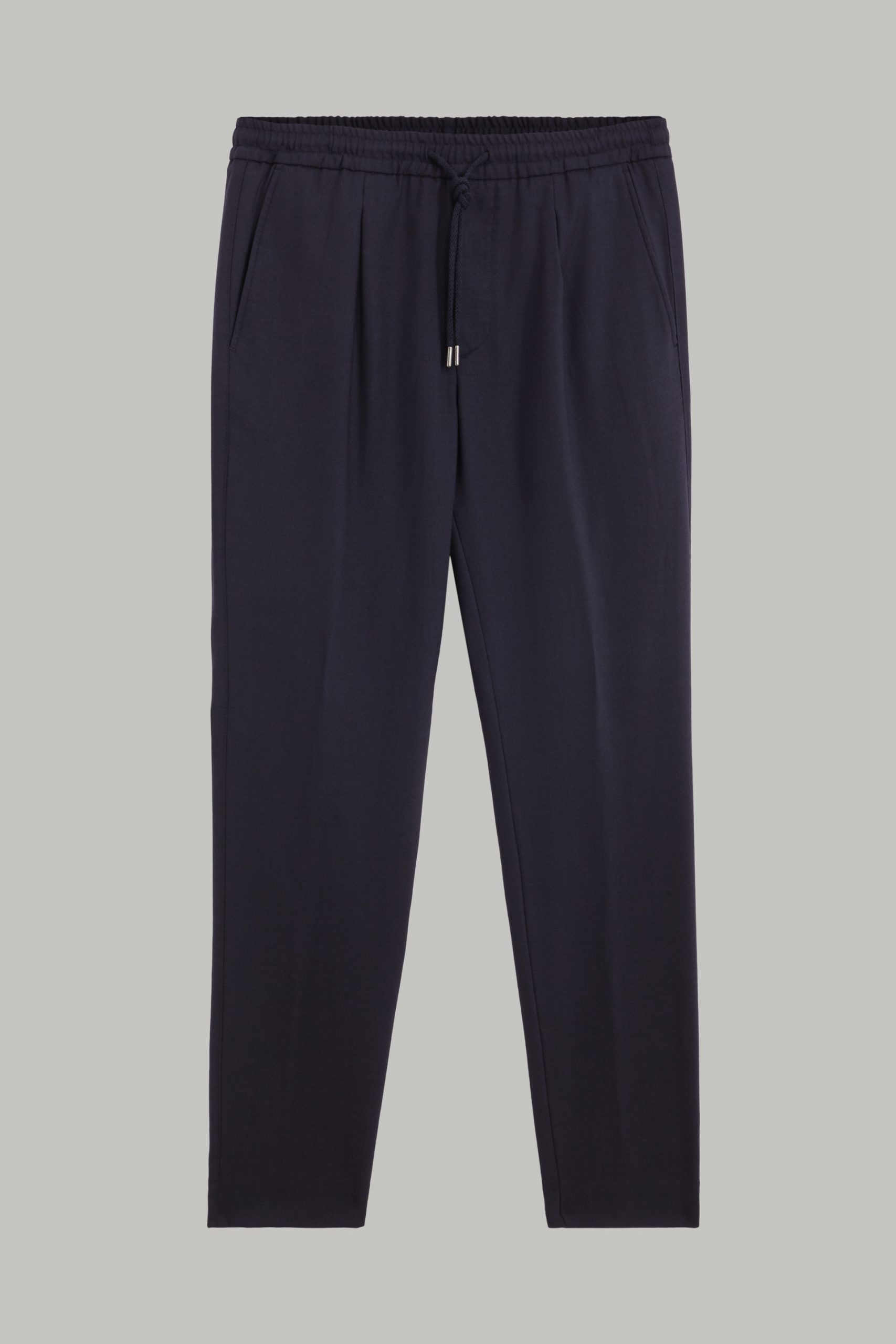Pantaloni da uomo in colore Navy in materiale