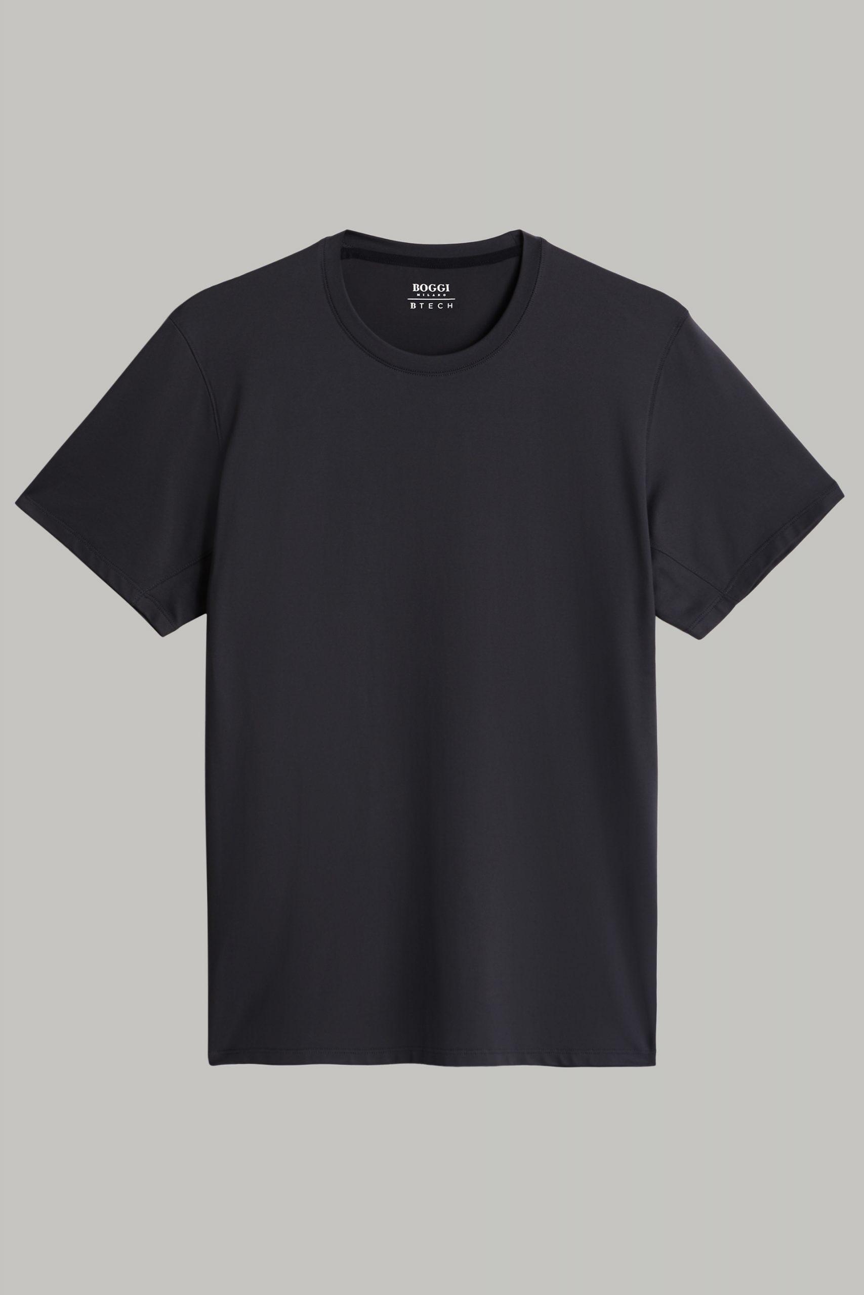 T-Shirts da uomo in colore Nero in materiale