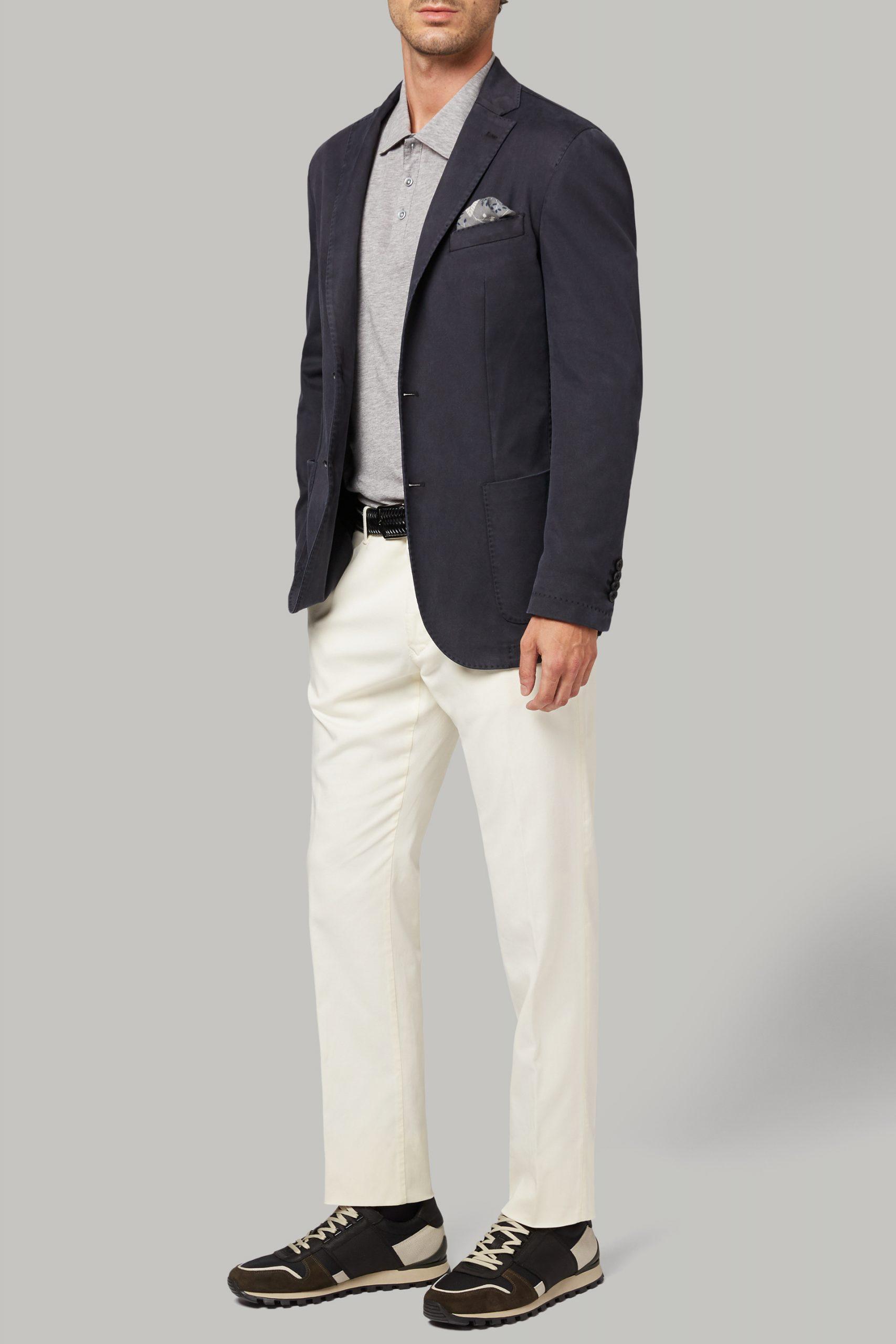 Blazers da uomo in colore Blu in materiale