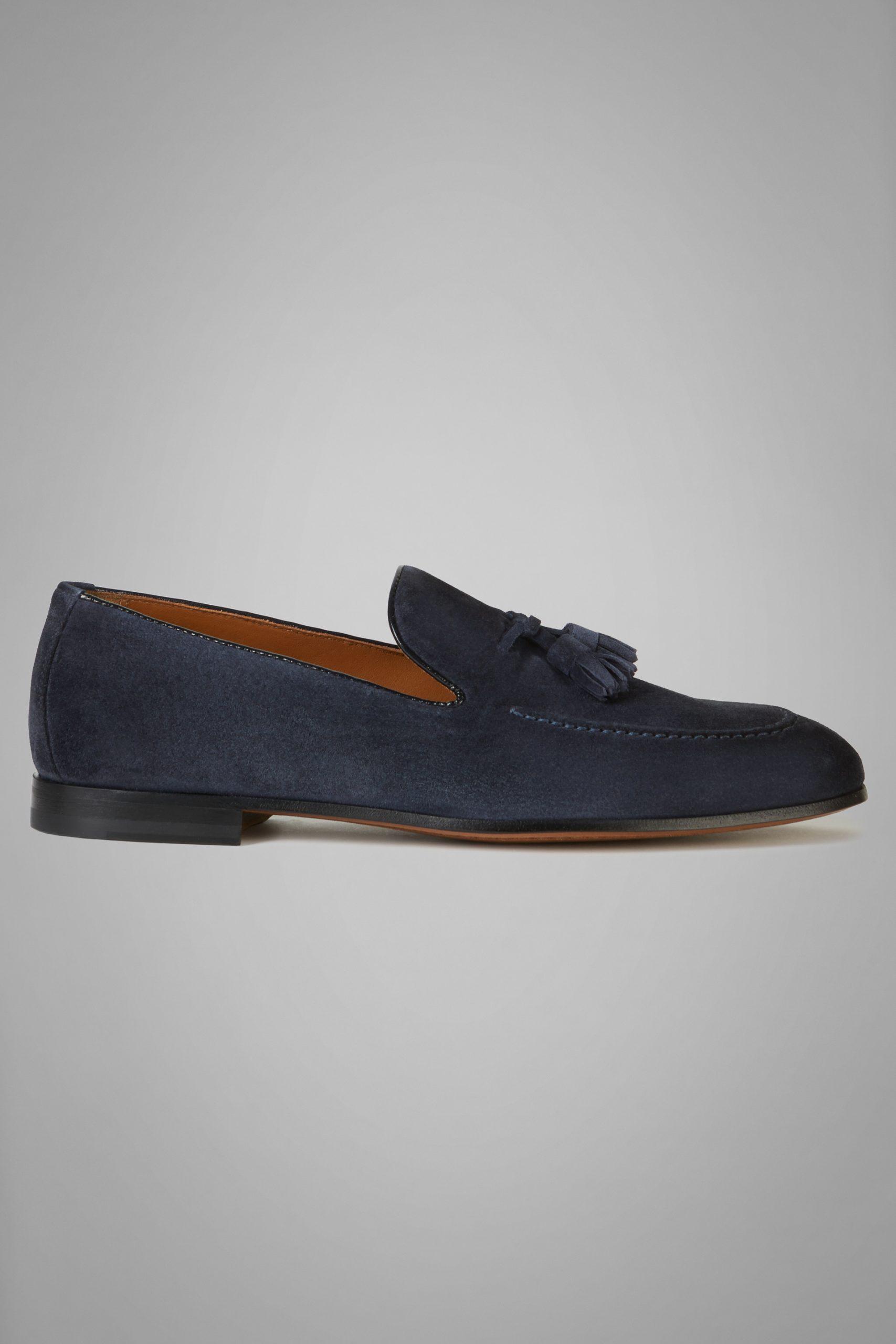 Scarpe Classiche da uomo in colore Denim in materiale