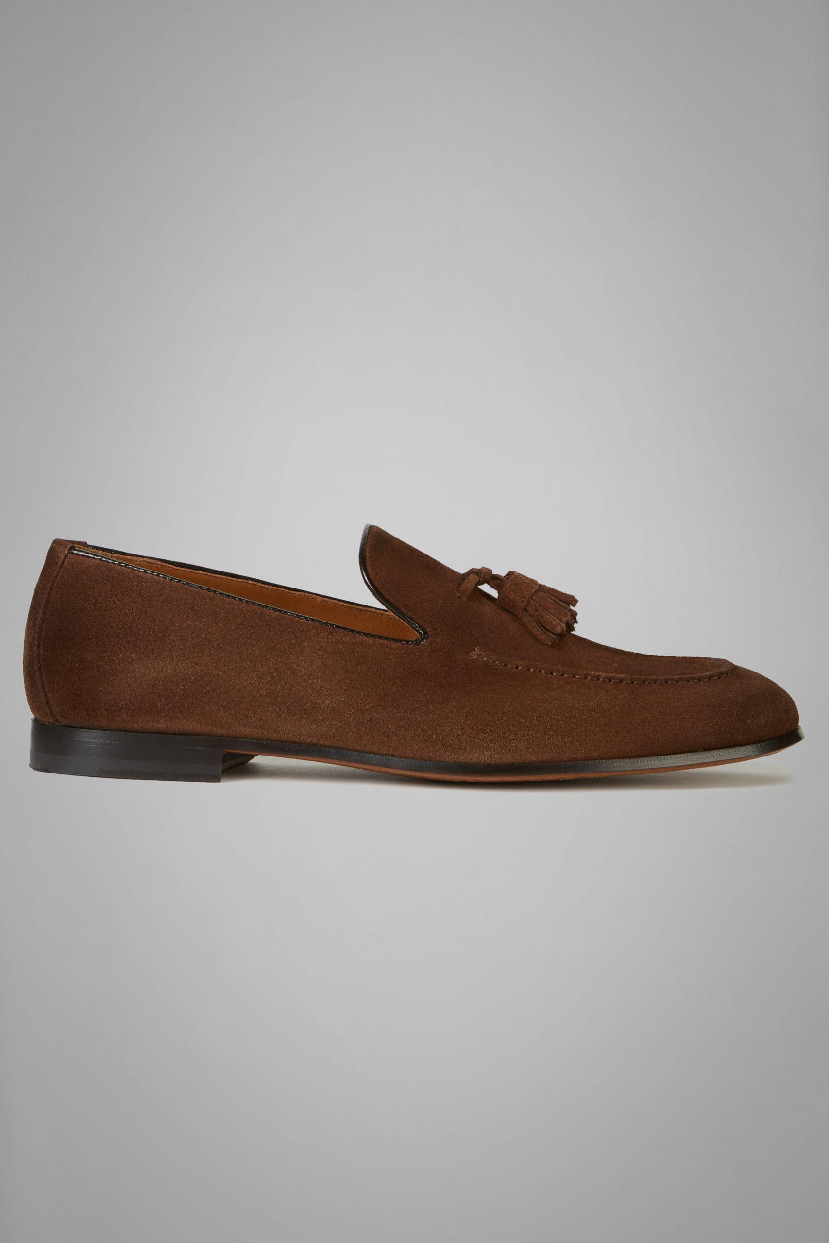 Scarpe Classiche da uomo in colore Marrone in materiale
