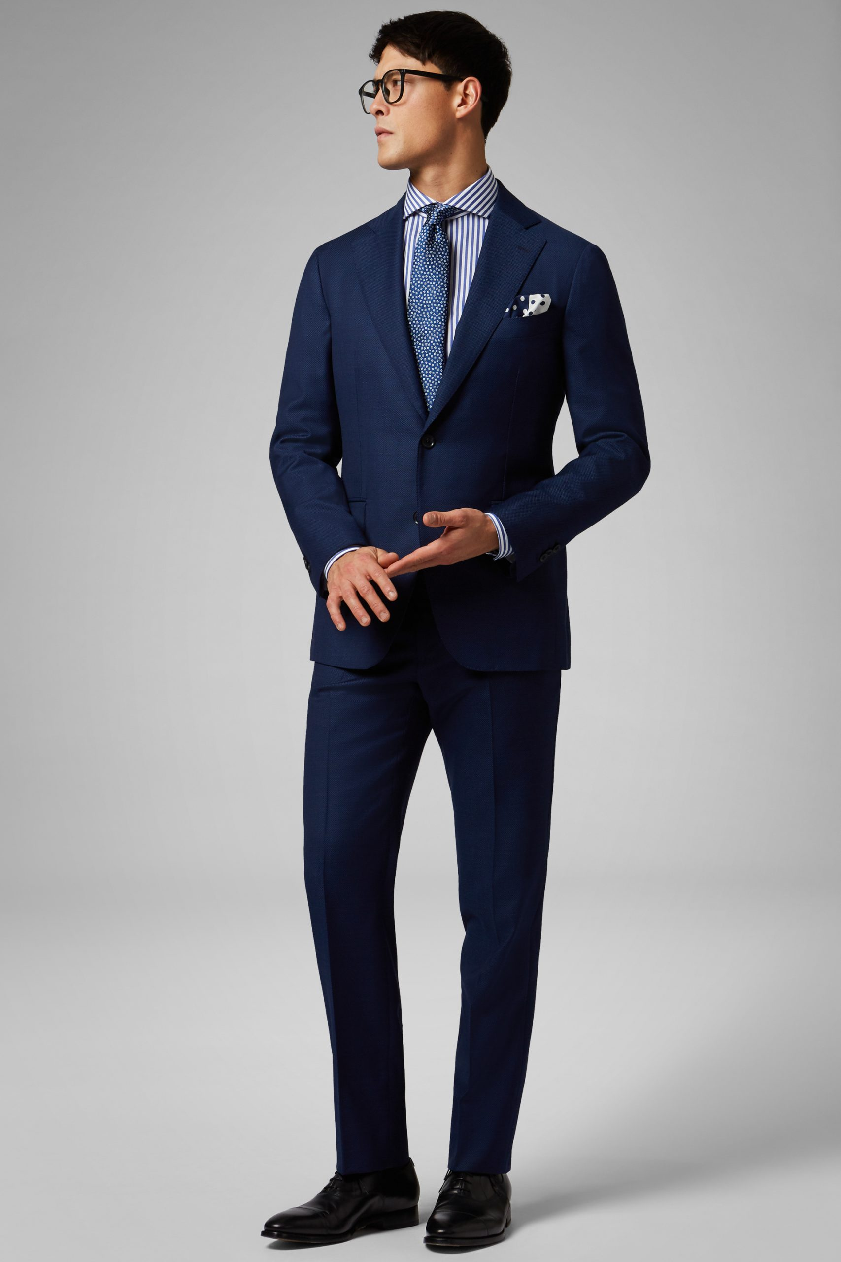 Abiti da uomo in colore Blu in materiale