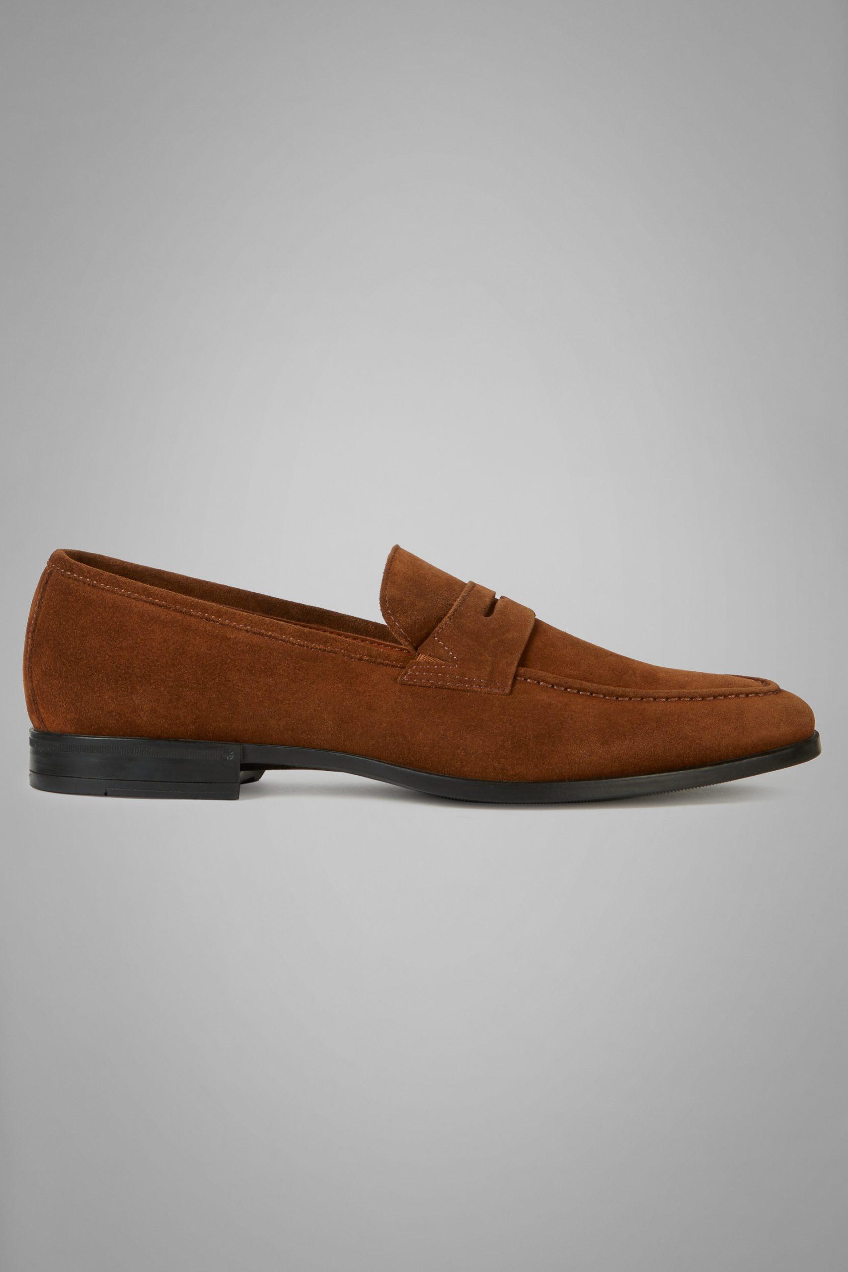 Scarpe Classiche da uomo in colore Cuoio in materiale