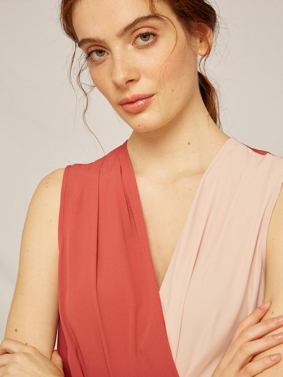 Caractere Abbigliamento > Top e t-shirt Rosso - Caractère Body in due colori Donna Rosso